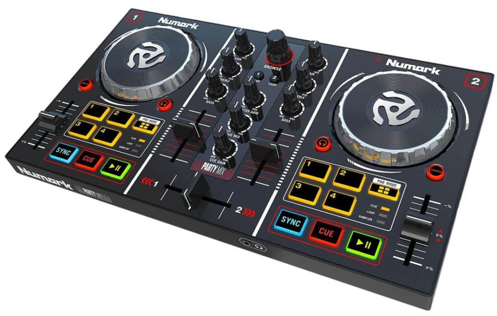 Numark Party Mix controles